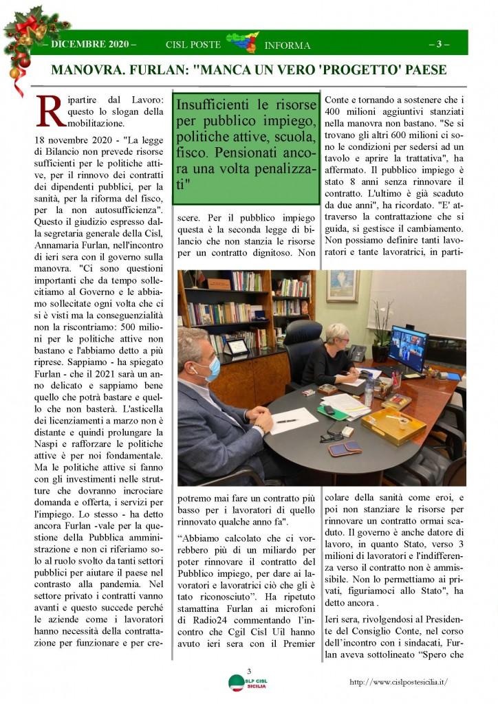 Cisl Poste Sicilia Informa Dicembrex 2020_Pagina_03
