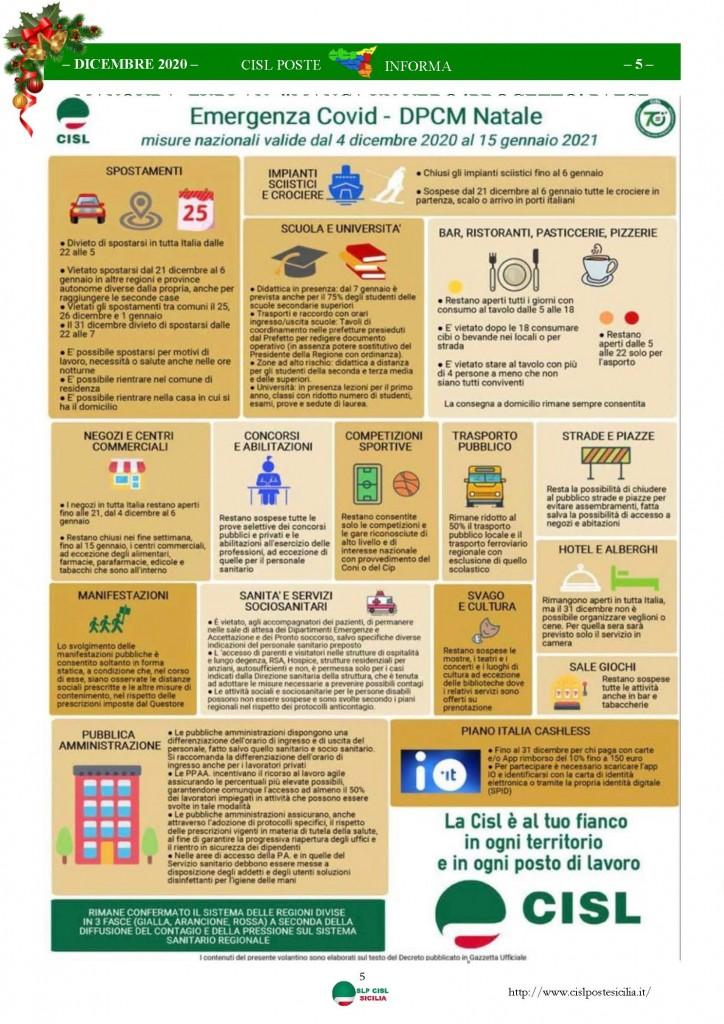 Cisl Poste Sicilia Informa Dicembrex 2020_Pagina_05