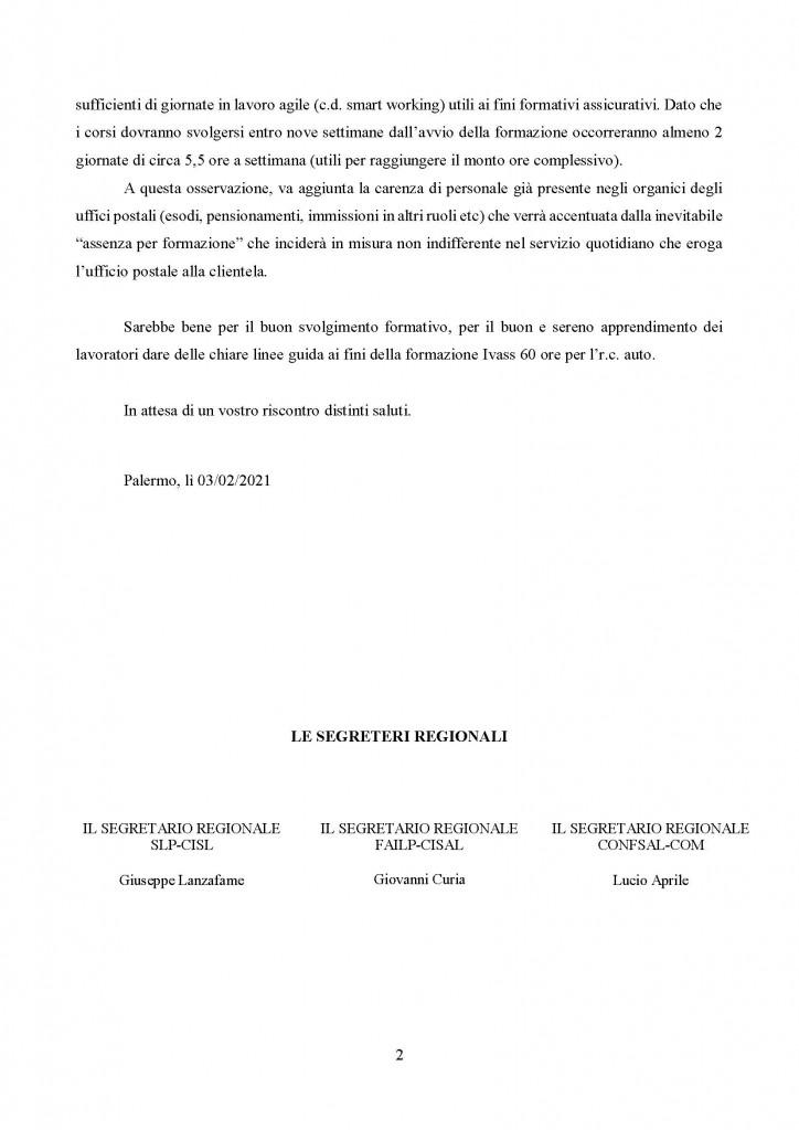 Corsi ivass 60 ore rc auto chiarimento pianificazione formativag2021_Pagina_2