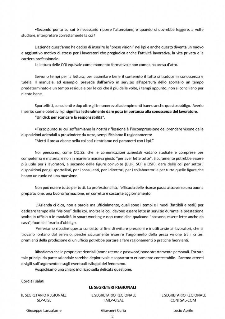 coi presa visione (disposizioni interne di servizio) in MP_Pagina_2