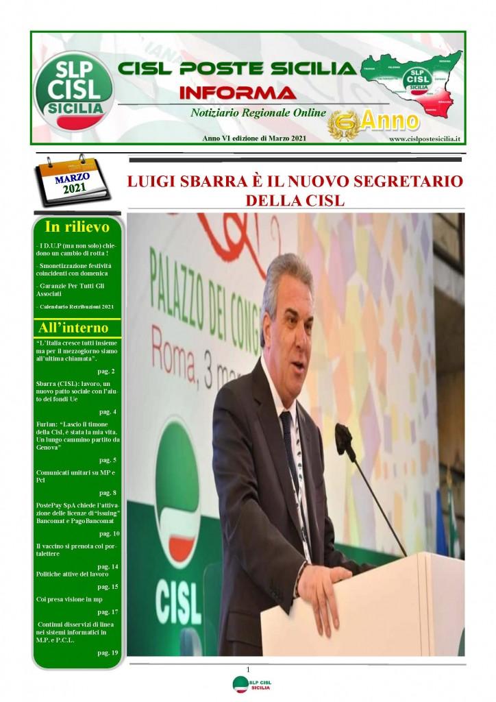 Cisl Poste Sicilia Informa Marzo 2021_Pagina_01