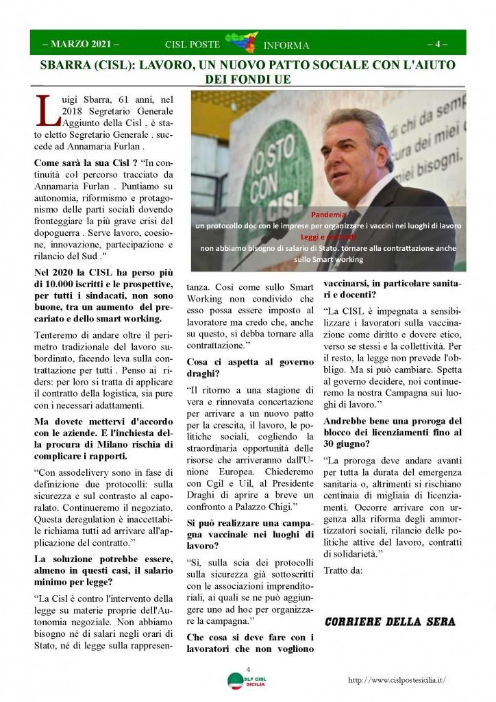 Cisl Poste Sicilia Informa Marzo 2021_Pagina_04