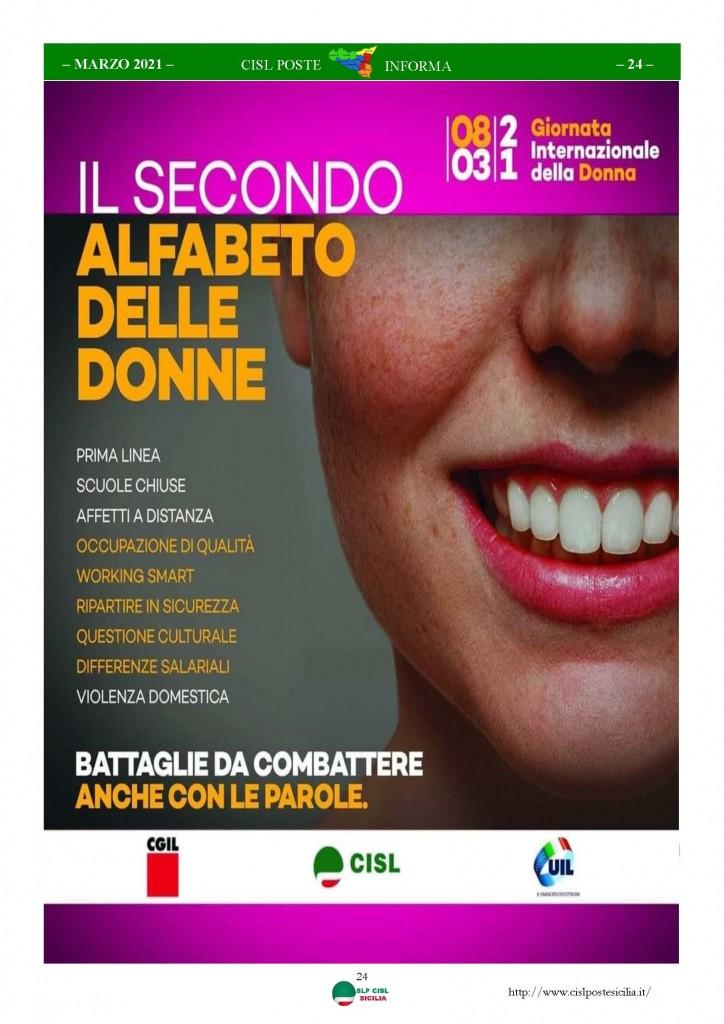 Cisl Poste Sicilia Informa Marzo 2021_Pagina_24