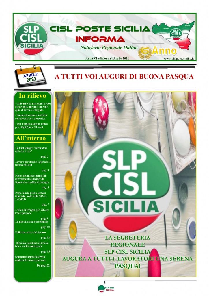 Cisl Poste Sicilia Informa Aprile 2021_Pagina_01