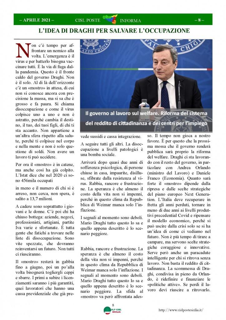 Cisl Poste Sicilia Informa Aprile 2021_Pagina_08